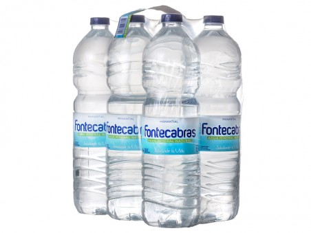 Pack Agua Mineral Natural 1.50L Fontecabras
