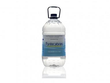 Garrafa Agua Mineral Natural 5L Fontecabras