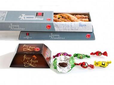Pack de 2 Trenzas de Almudévar y 1 caja de Frutas de Aragón