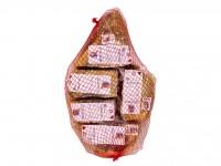 Jamón D.O. Teruel envasado en 5 tacos - Jamones Bronchales