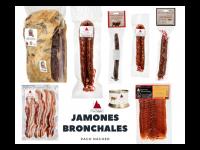 Surtido  Gourmet Bronchales - DOP Jamón de Teruel, embutidos y paté