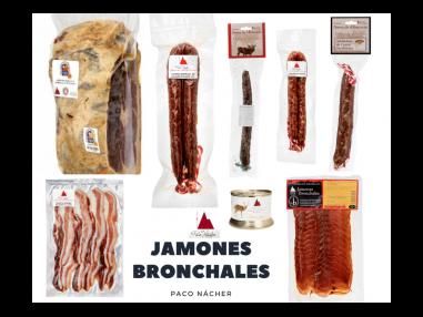 Surtido  Gourmet Bronchales - Jamón DOP Teruel, embutidos y paté