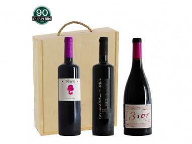 Pack Premium de vino tinto garnacha (3 botellas)