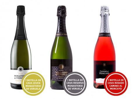 Pack Cava: elaborado en Aragón (3 botellas)