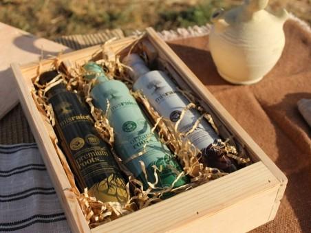 "Pack 3 Aceites de Oliva Virgen Extra ""COFRE ALHAJA"" 500 ML por Botella"