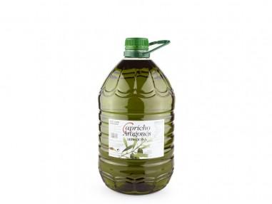 """Aceite de Oliva Virgen Extra """"Capricho Aragonés Arbequina"""" 5L"""