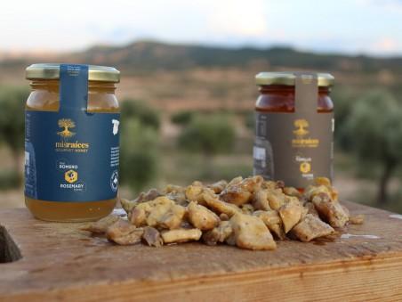 Miel Gourmet de Romero - Producida en Teruel - 280GR.