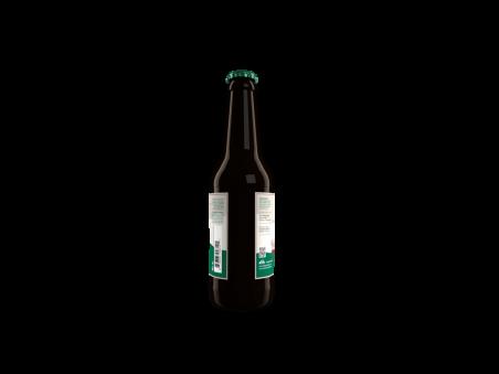 """Cerveza Verde elaborada con Olivas Empeltre  """"OLIBA GREEN BEER"""" 33 CL"""