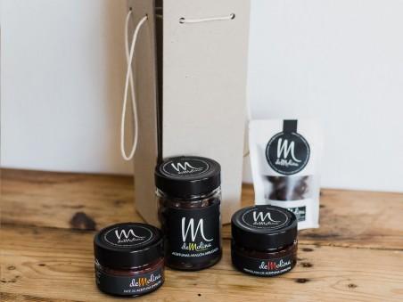 """Pack gourmet de aceitunas """"Empeltre"""" De Molina"""