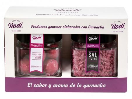 Pack de garnachas: sal de garnacha y garnachicos