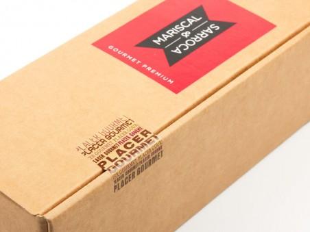 Trío de foie gras Masriscal&Sarroca con gelée de cava y oro Bubub