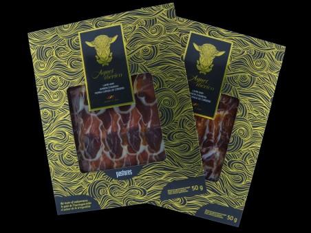 Pack de 20 sobres de pierna curada de cordero Agnei Ibérico